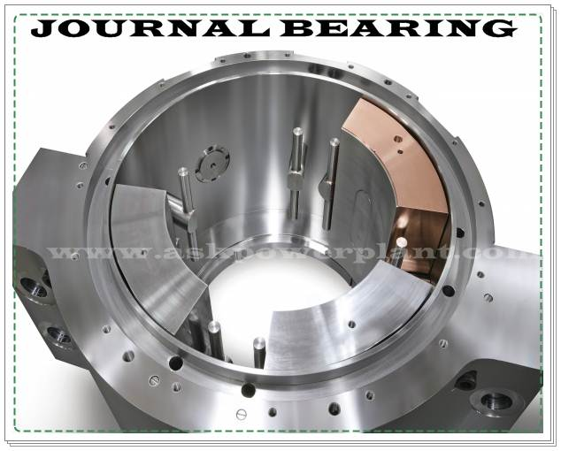 STEAM TURBINE JOURNAL BEARING AND IT'S FUNCTION - ASK POWER PLANT