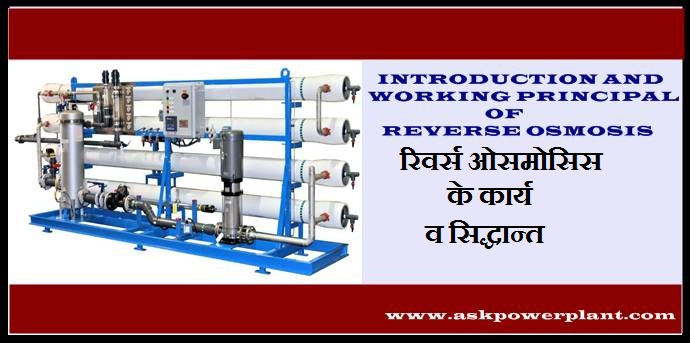 INTRODUCTION AND WORKING PRINCIPAL OF REVERSE OSMOSIS